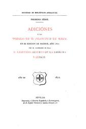 Adiciones á las poesías: Volumen 5