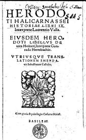 Herodoti Halicarnassei Historiae libri IX