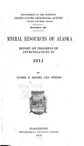Mineral Resources of Alaska: Bulletin, Issue 520