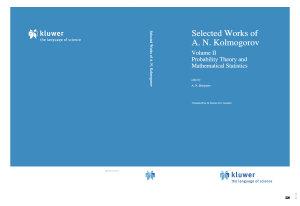 Selected Works of A  N  Kolmogorov PDF