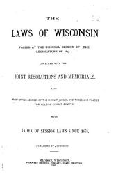 Laws of Wisconsin