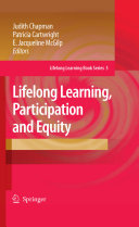 Lifelong Learning  Participation and Equity