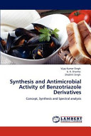 Synthesis and Antimicrobial Activity of Benzotriazole Derivatives
