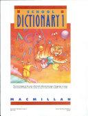 School Dictionary 3-4