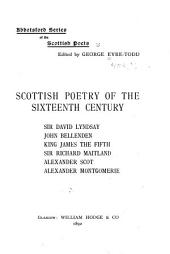 Abbotsford Series of the Scottish Poets,