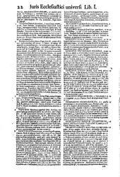 Ius ecclesiasticum universum: Volume 1