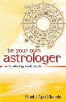 Be Your Own Astrologer PDF