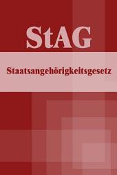 Staatsangehörigkeitsgesetz - StAG