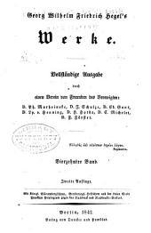 Vorlesungen über die Geschichte der Philosophie: Band 2