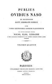 Opera ex recensione Heinsio-Burmanniana: Volume 4