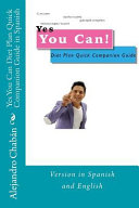 Yes You Can Diet Plan Quick Companion Guide in Spanish PDF