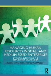Managing Human Resources in Small and Medium-Sized Enterprises
