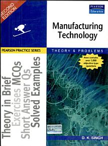 Manufacturing Technology PDF