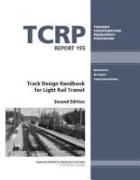 Track Design Handbook for Light Rail Transit PDF