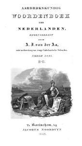 Aardrijkskundig Woordenboek der Nederlanden: E - G, Volume 4