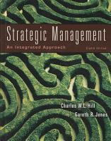 Strategic Management  An Integrated Approach PDF