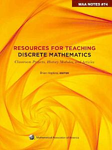 Resources for Teaching Discrete Mathematics PDF