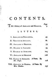 Letters of Abelard and Heloise. To which is prefix'd, A particular account of their lives, amours, and misfortunes, extr. chiefly from [the Dictionnaire of] m. Bayle, tr. [by J. Hughes]. By J. Hughes. Together with the poem of Eloisa to Abelard, by mr. Pope, and the poem of Abelard to Eloisa, by mrs. Madan