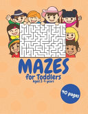 Mazes for Toddlers 2-4 Years