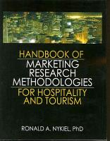 Handbook of Marketing Research Methodologies for Hospitality and Tourism PDF