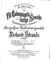 Till Eulenspiegels lustige Streiche: nach alter Schelmenweise, in Rondeauform gesetzt. Op. 28