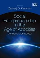 Social Entrepreneurship in the Age of Atrocities PDF