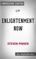 Enlightenment Now--by Steven Pinker
