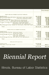 Biennial Report of the Bureau of Labor Statistics of Illinois: Volume 9