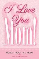 I Love You Mom  PDF