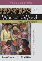 Ways of the World  A Brief Global History  Value Edition  Volume II PDF