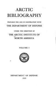 Arctic Bibliography PDF