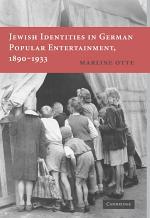 Jewish Identities in German Popular Entertainment, 1890–1933