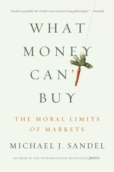 Download What Money Can t Buy Book