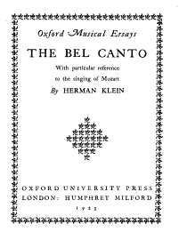 The Bel Canto