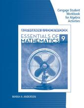 Student Workbook for Aufmann/Lockwoods Essentials of Mathematics: An Applied Approach, 9th: Edition 9