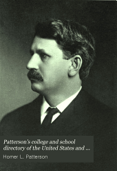 Patterson's College and School Directory of the United States and Canada: Volume 1