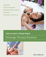 How to Start a Home based Massage Therapy Business PDF