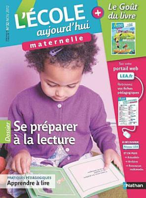 L Ecole aujourd hui Maternelle   Novembre 2012 PDF