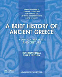 A Brief History of Ancient Greece  International Edition Book