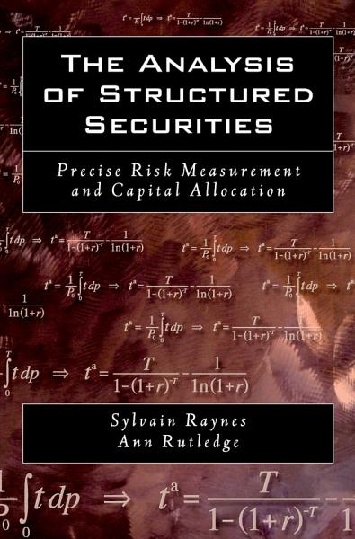 The Analysis of Structured Securities Pdf Book