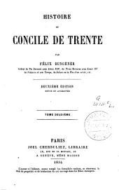 Histoire du concile de Trente: Volume2