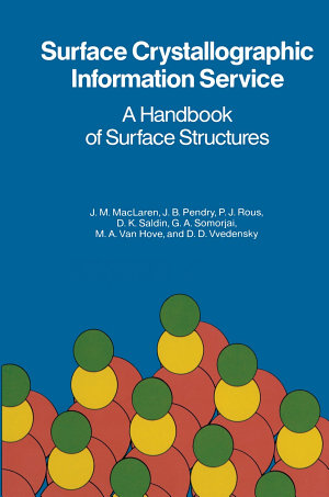 Surface Crystallographic Information Service