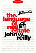 The Language of Real Estate Book