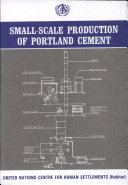 Small-scale Production of Portland Cement
