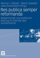 Res publica semper reformanda PDF