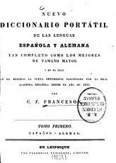 Nuevo diccionario port  til de las lenguas espa  ola y alemana0 PDF
