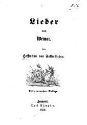 Lieder aus Weimar