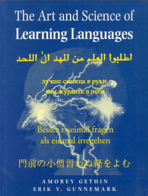 The Art and Science of Learning Languages PDF