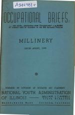 Occupational Briefs ...: Millinery