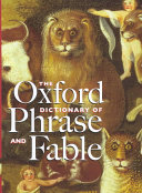 The Oxford Dictionary of Phrase and Fable PDF